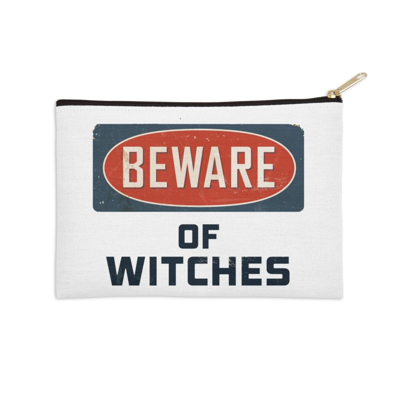 Bware Witch Accessories Zip Pouch by DesignsbyAnvilJames's Artist Shop