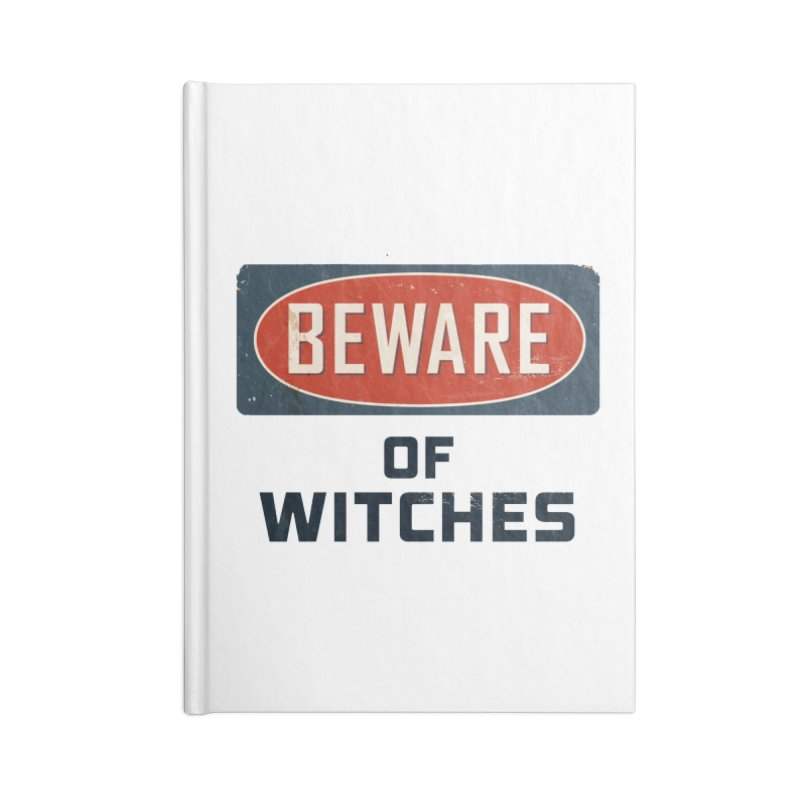 Bware Witch Accessories Notebook by DesignsbyAnvilJames's Artist Shop