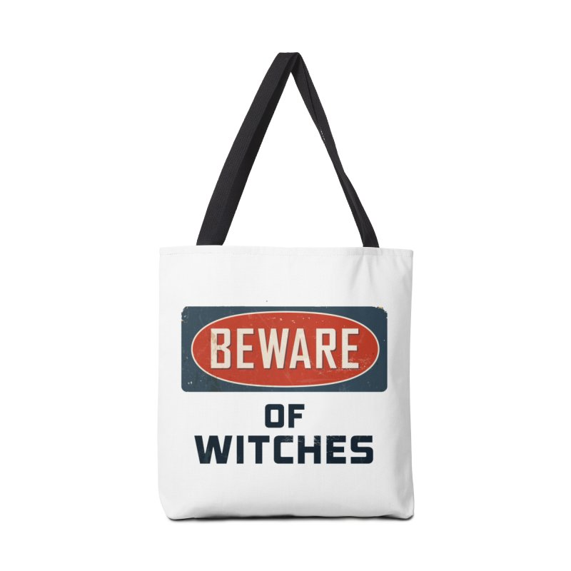 Bware Witch Accessories Tote Bag Bag by DesignsbyAnvilJames's Artist Shop