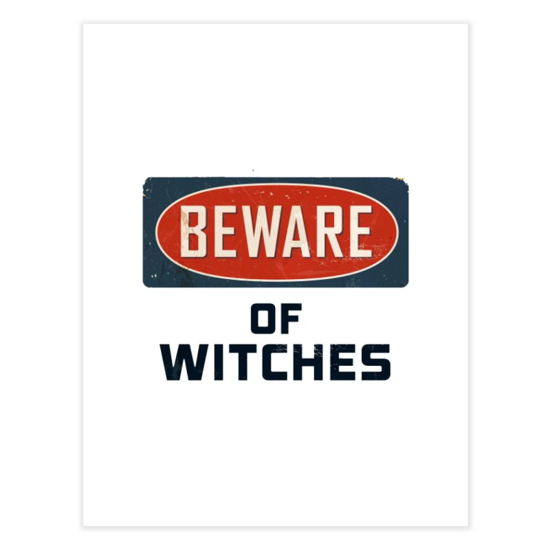 Bware Witch Home Fine Art Print by DesignsbyAnvilJames's Artist Shop