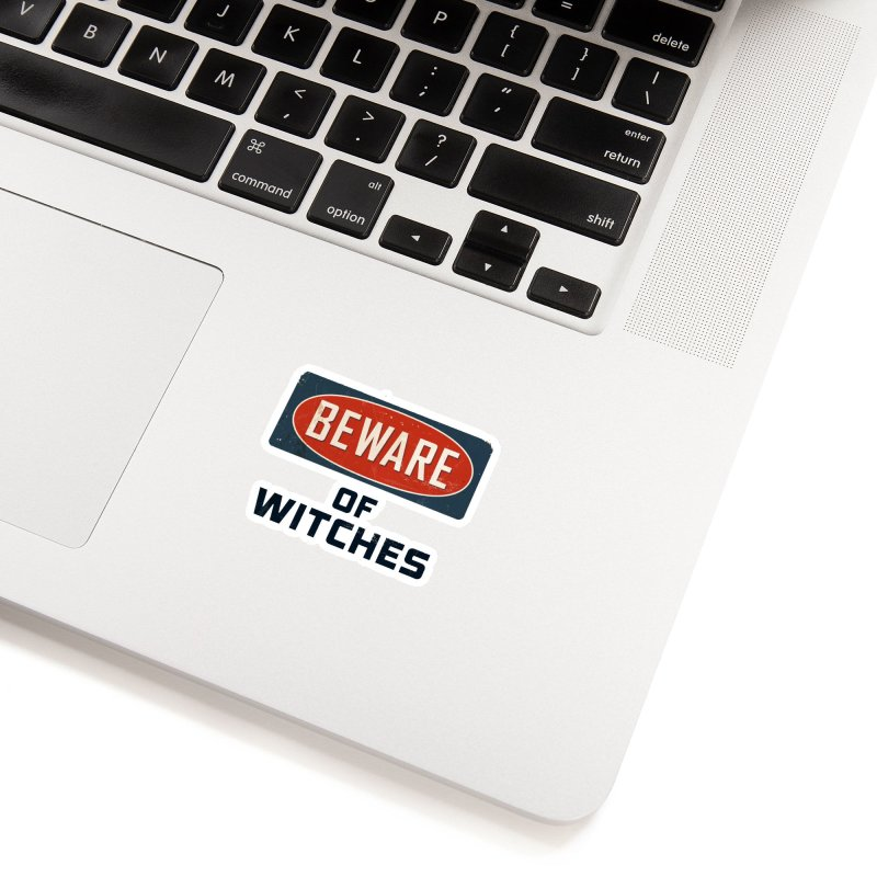 Bware Witch Accessories Sticker by DesignsbyAnvilJames's Artist Shop