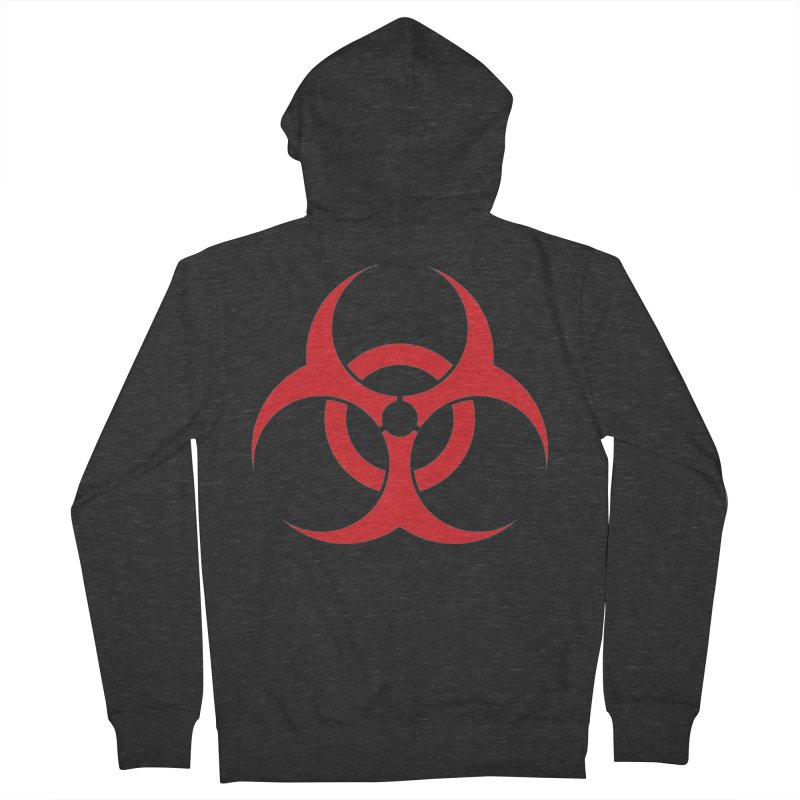 BIO HAZ Men's Zip-Up Hoody by DesignsbyAnvilJames's Artist Shop