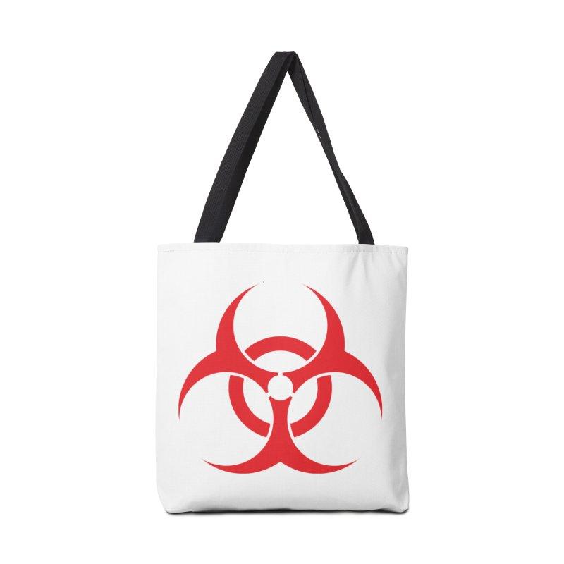 BIO HAZ Accessories Bag by DesignsbyAnvilJames's Artist Shop