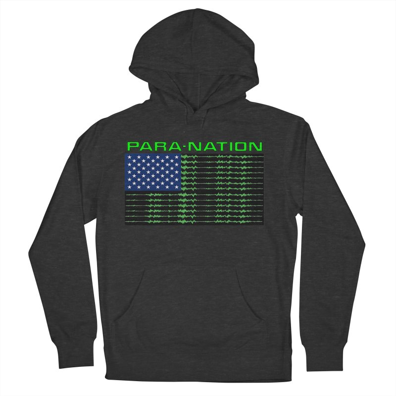 PARANATION Men's French Terry Pullover Hoody by DesignsbyAnvilJames's Artist Shop