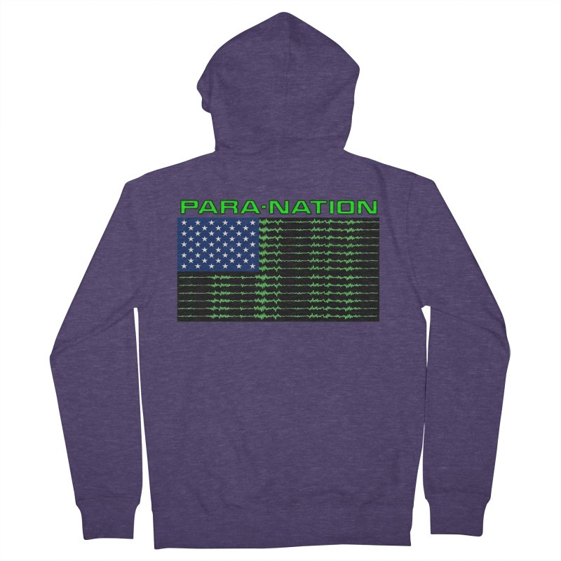 PARANATION Men's French Terry Zip-Up Hoody by DesignsbyAnvilJames's Artist Shop
