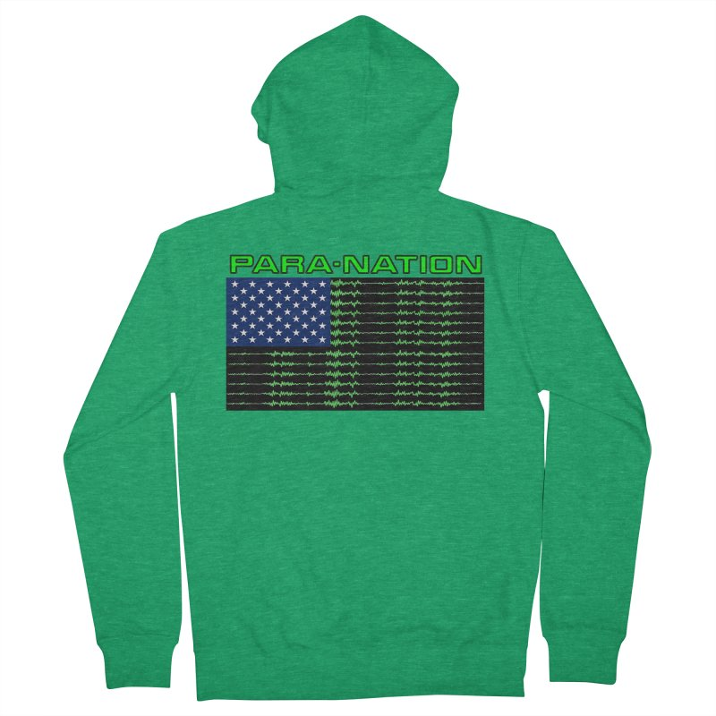 PARANATION Men's Zip-Up Hoody by DesignsbyAnvilJames's Artist Shop
