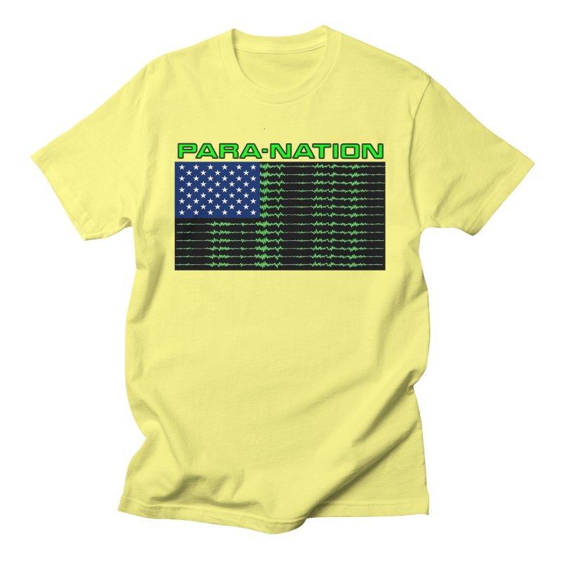 PARANATION Men's T-Shirt by DesignsbyAnvilJames's Artist Shop