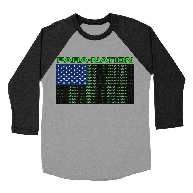 PARANATION Women's Baseball Triblend Longsleeve T-Shirt by DesignsbyAnvilJames's Artist Shop