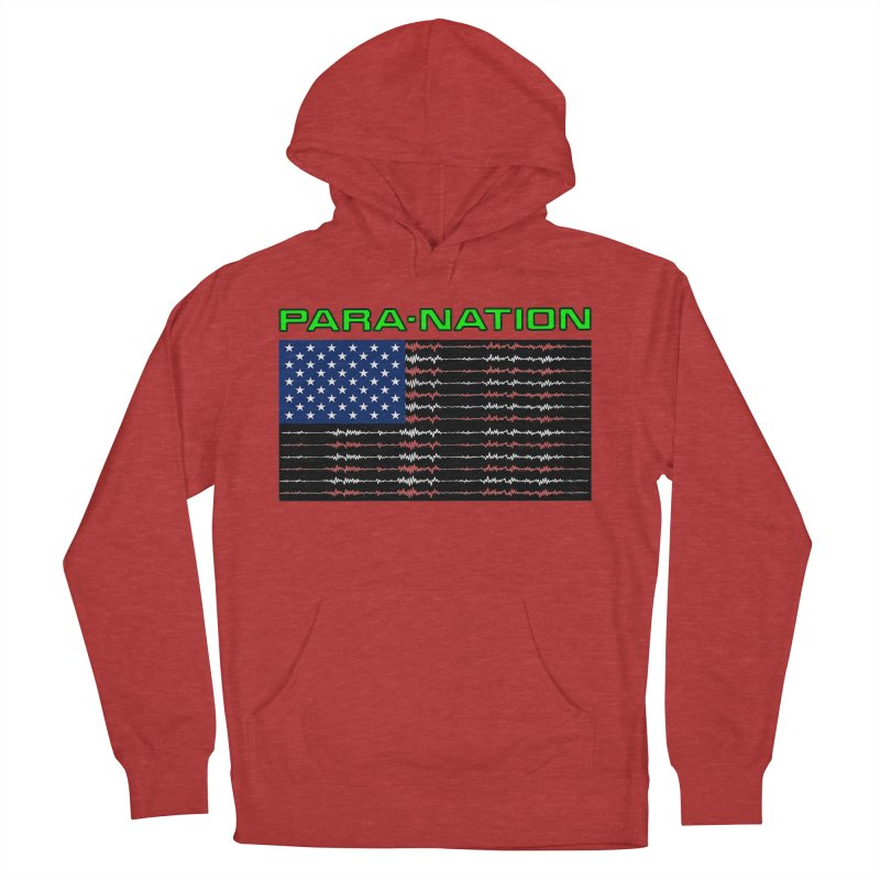 PARANATION Full Color Men's French Terry Pullover Hoody by DesignsbyAnvilJames's Artist Shop
