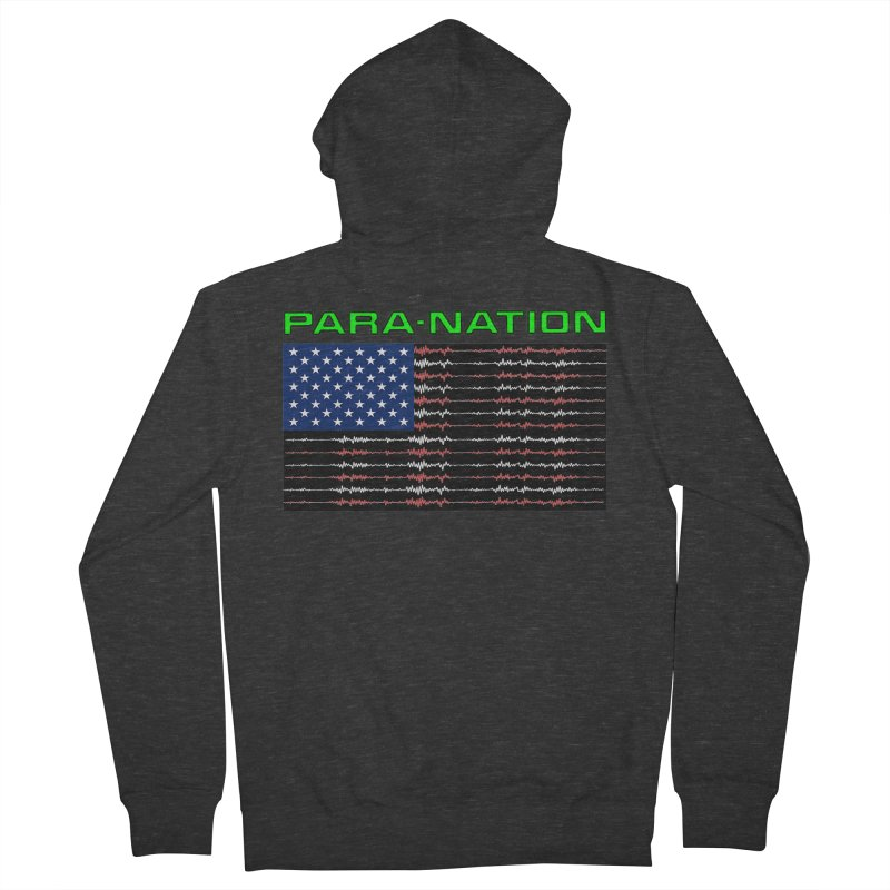 PARANATION Full Color Women's French Terry Zip-Up Hoody by DesignsbyAnvilJames's Artist Shop