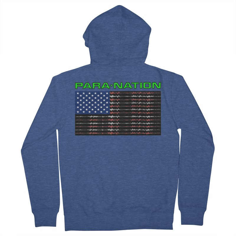 PARANATION Full Color Men's Zip-Up Hoody by DesignsbyAnvilJames's Artist Shop