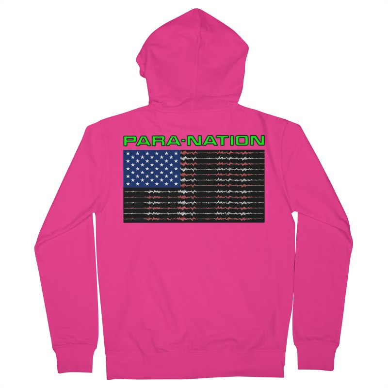 PARANATION Full Color Men's French Terry Zip-Up Hoody by DesignsbyAnvilJames's Artist Shop