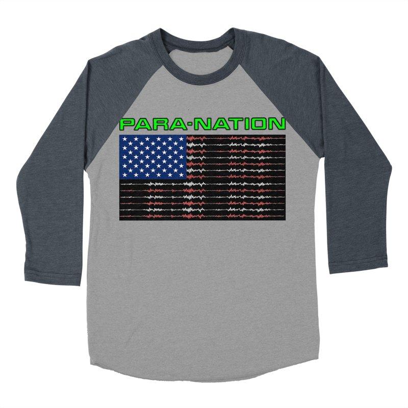 PARANATION Full Color Women's Baseball Triblend Longsleeve T-Shirt by DesignsbyAnvilJames's Artist Shop