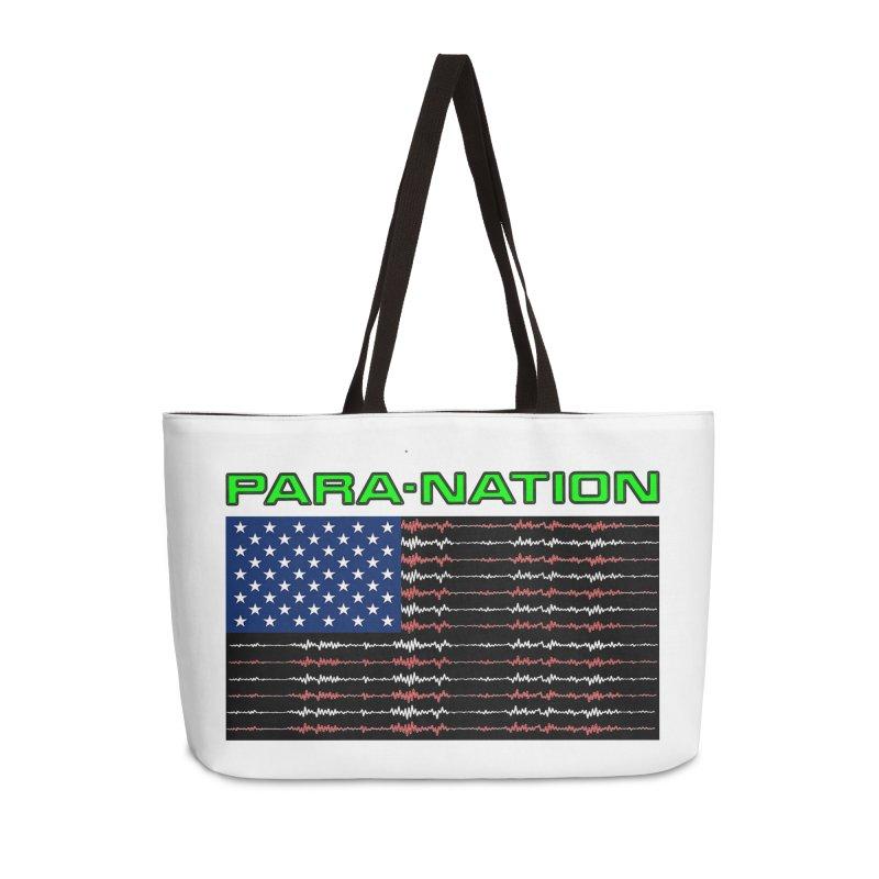 PARANATION Full Color Accessories Weekender Bag Bag by DesignsbyAnvilJames's Artist Shop