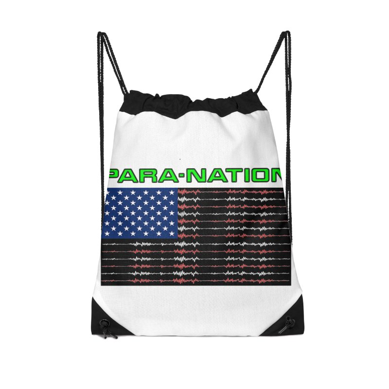 PARANATION Full Color Accessories Drawstring Bag Bag by DesignsbyAnvilJames's Artist Shop
