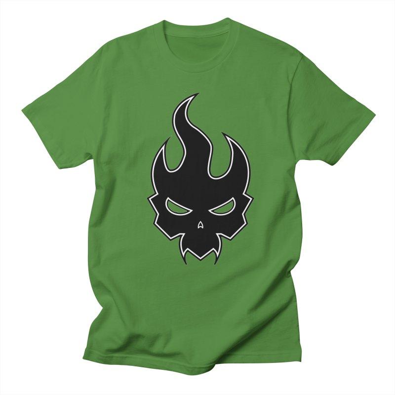 Blazzing Skull Women's Regular Unisex T-Shirt by DesignsbyAnvilJames's Artist Shop