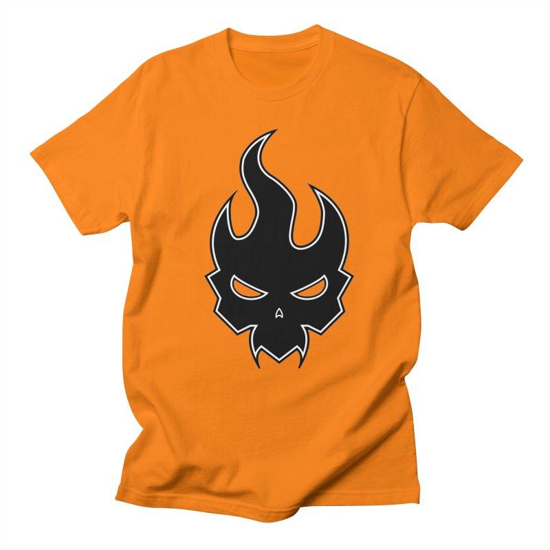 Blazzing Skull Men's Regular T-Shirt by DesignsbyAnvilJames's Artist Shop