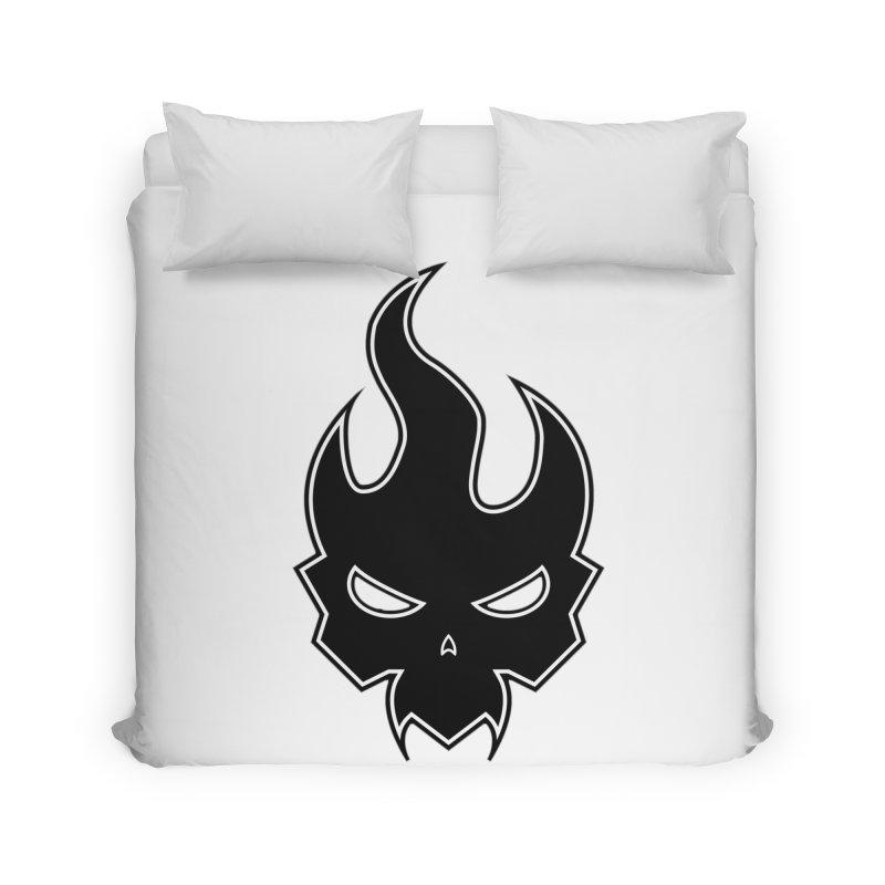 Blazzing Skull Home Duvet by DesignsbyAnvilJames's Artist Shop