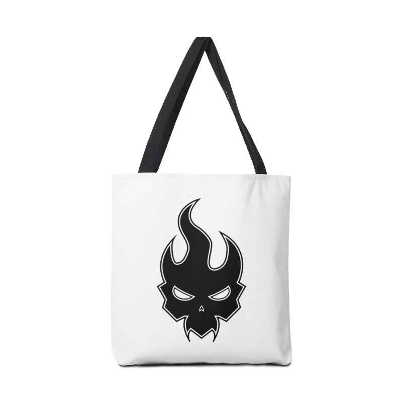 Blazzing Skull Accessories Bag by DesignsbyAnvilJames's Artist Shop