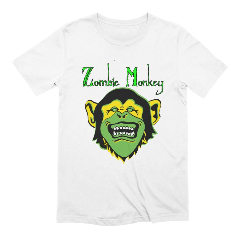 Zombie Monkey Men's Extra Soft T-Shirt by DesignsbyAnvilJames's Artist Shop