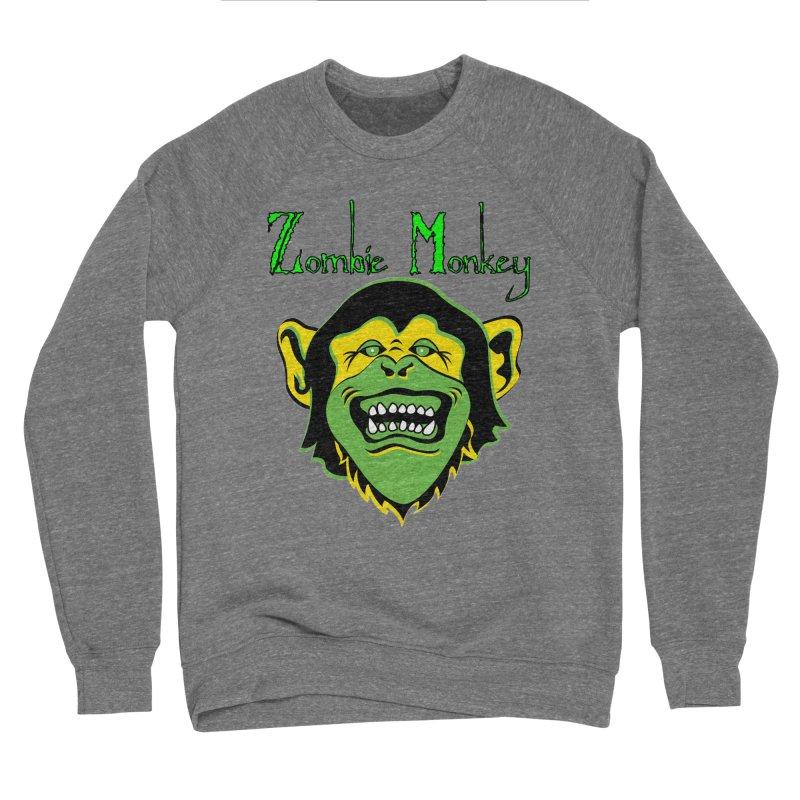 Zombie Monkey Women's Sponge Fleece Sweatshirt by DesignsbyAnvilJames's Artist Shop