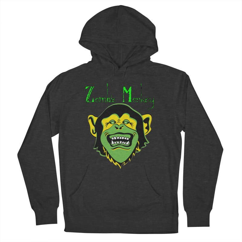 Zombie Monkey Women's French Terry Pullover Hoody by DesignsbyAnvilJames's Artist Shop