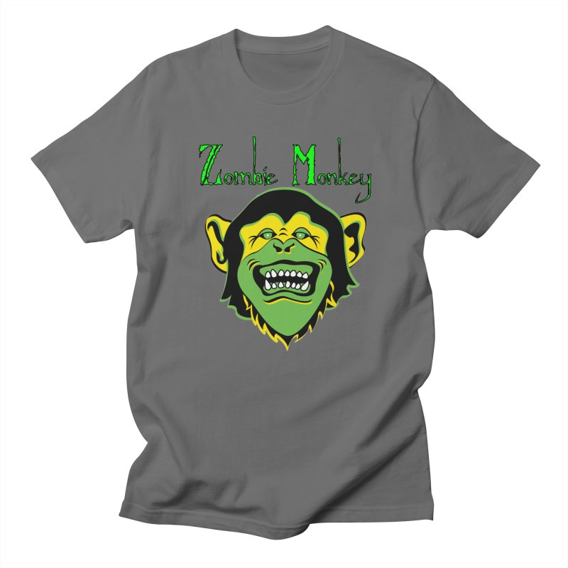 Zombie Monkey Men's T-Shirt by DesignsbyAnvilJames's Artist Shop