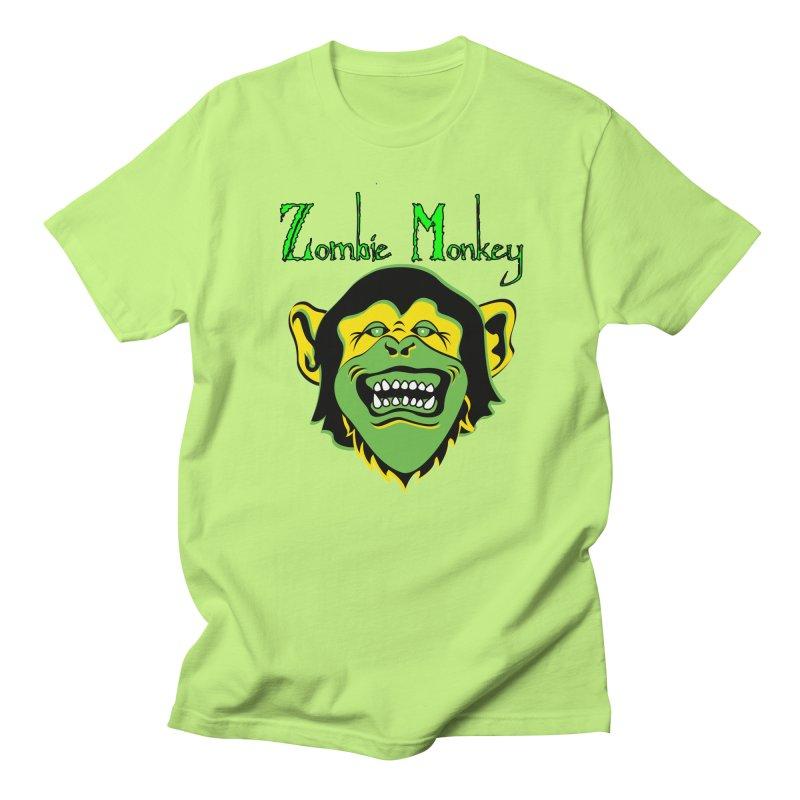 Zombie Monkey Women's Regular Unisex T-Shirt by DesignsbyAnvilJames's Artist Shop