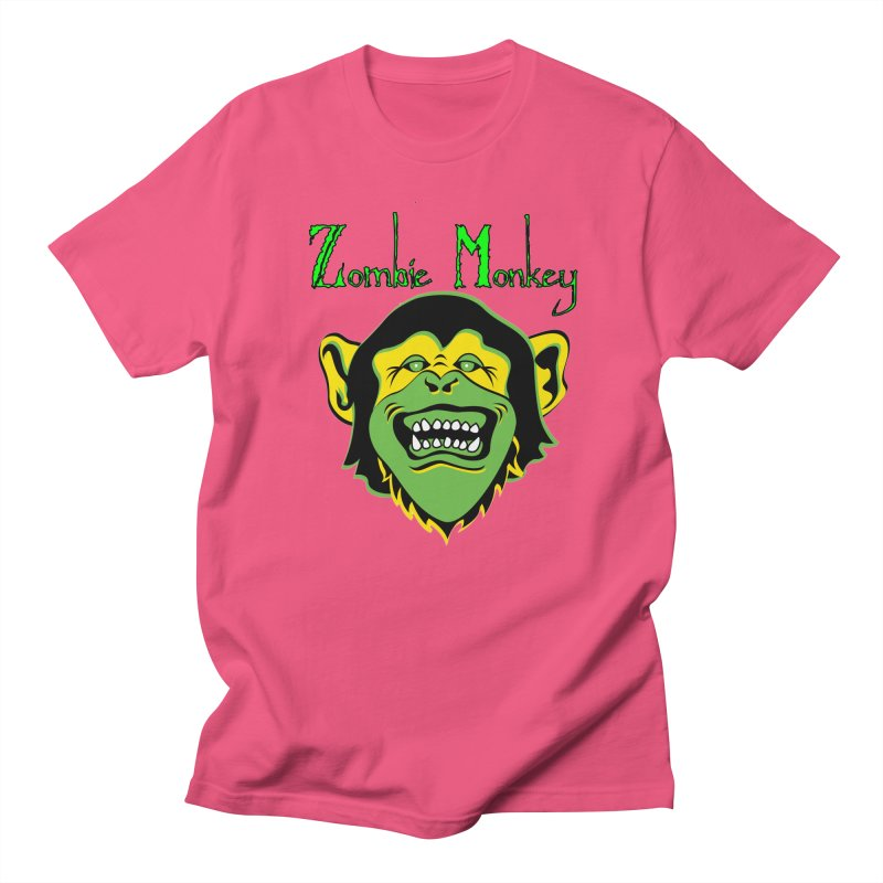 Zombie Monkey Men's Regular T-Shirt by DesignsbyAnvilJames's Artist Shop