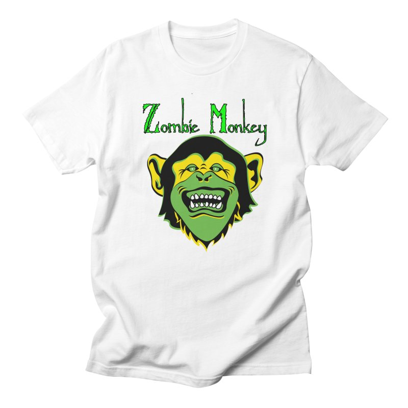 Zombie Monkey Men's Regular T-Shirt by DesignsbyAnvilJames's Artist Shop