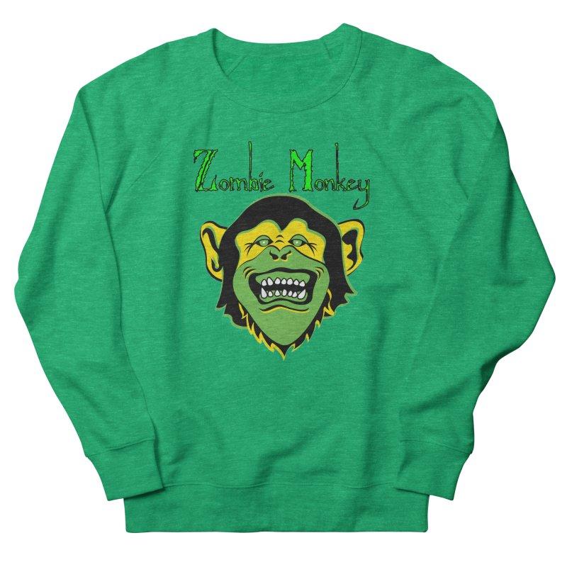 Zombie Monkey Women's Sweatshirt by DesignsbyAnvilJames's Artist Shop