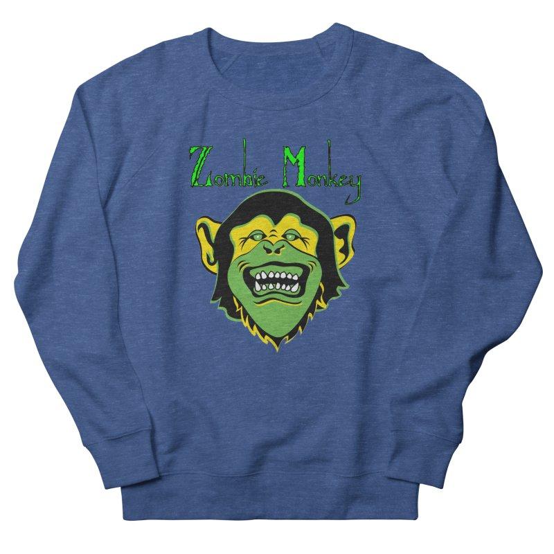 Zombie Monkey Men's Sweatshirt by DesignsbyAnvilJames's Artist Shop