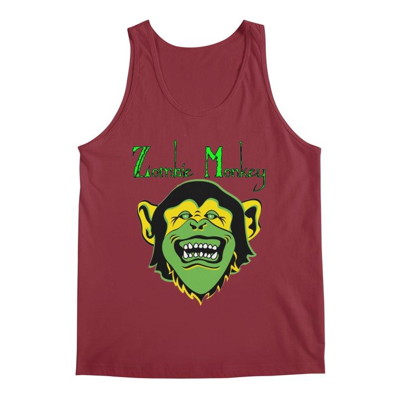 Zombie Monkey Men's Tank by DesignsbyAnvilJames's Artist Shop
