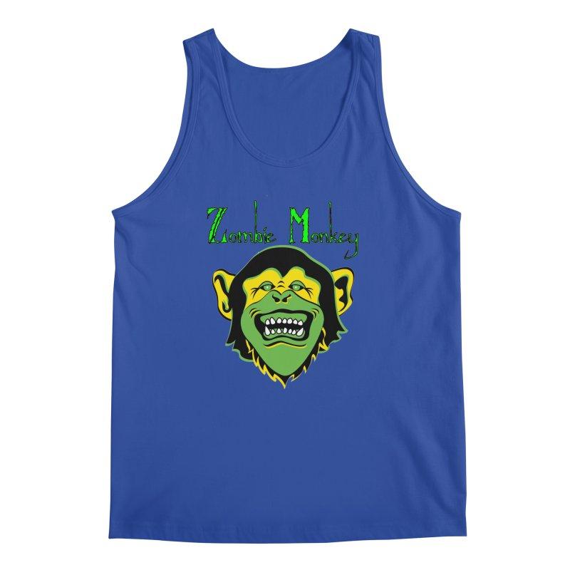 Zombie Monkey Men's Regular Tank by DesignsbyAnvilJames's Artist Shop