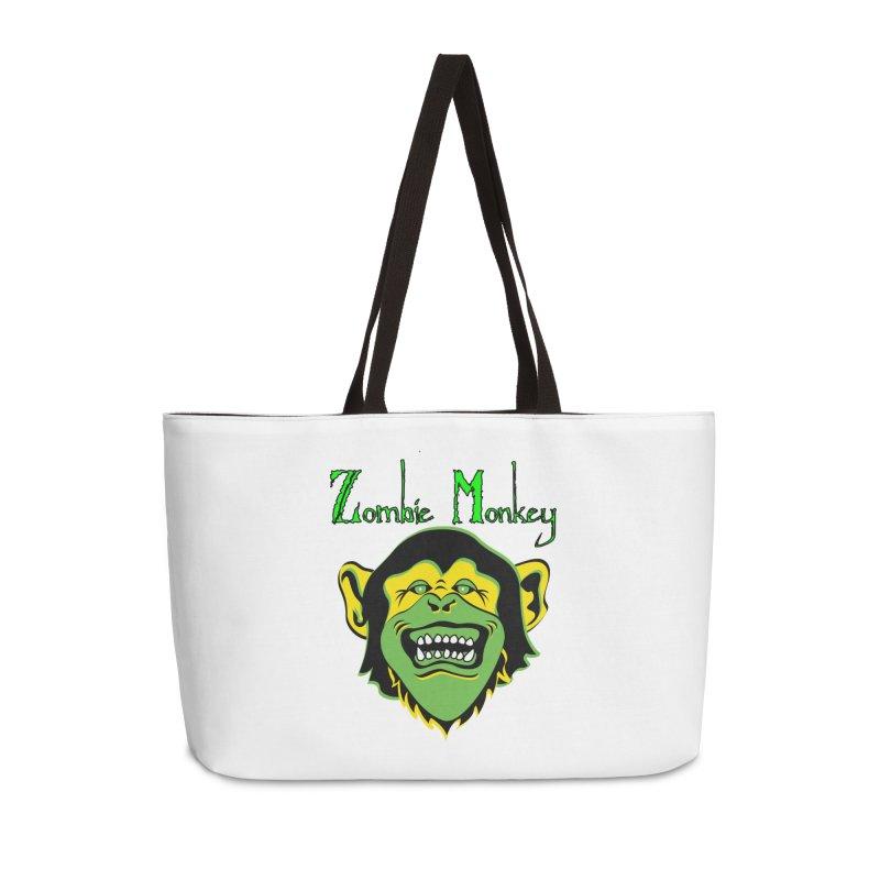 Zombie Monkey Accessories Weekender Bag Bag by DesignsbyAnvilJames's Artist Shop