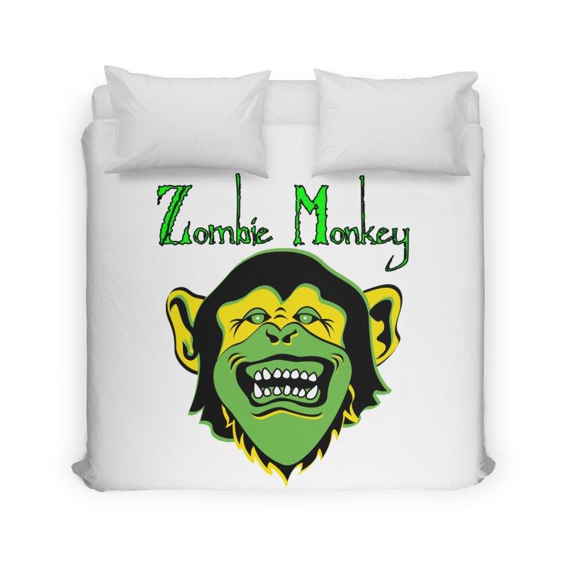 Zombie Monkey Home Duvet by DesignsbyAnvilJames's Artist Shop