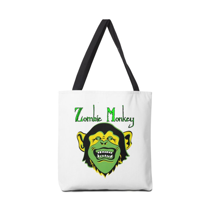 Zombie Monkey Accessories Tote Bag Bag by DesignsbyAnvilJames's Artist Shop