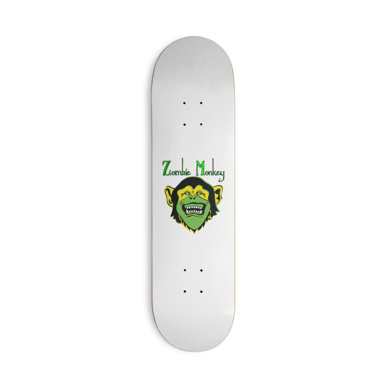Zombie Monkey Accessories Deck Only Skateboard by DesignsbyAnvilJames's Artist Shop