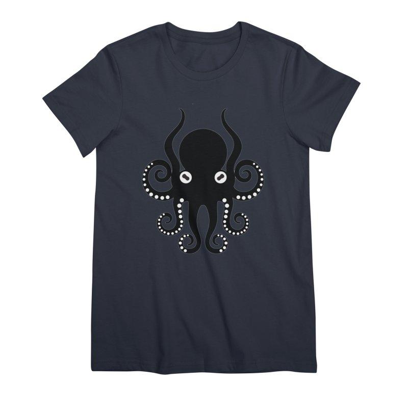 Octopi Women's Premium T-Shirt by DesignsbyAnvilJames's Artist Shop