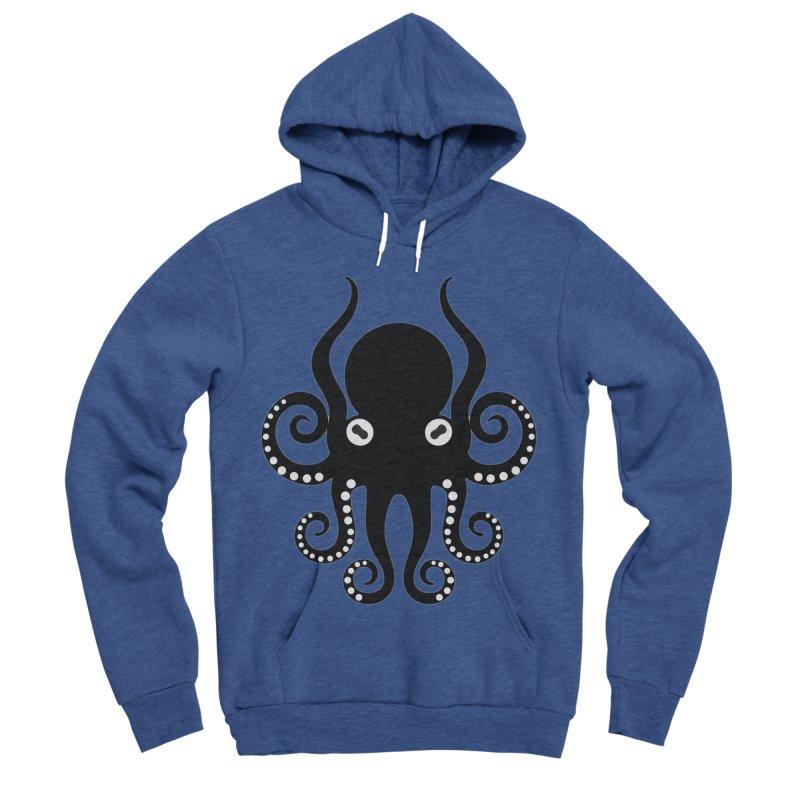Octopi Men's Sponge Fleece Pullover Hoody by DesignsbyAnvilJames's Artist Shop