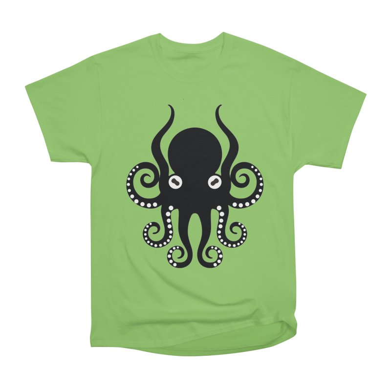 Octopi Women's Heavyweight Unisex T-Shirt by DesignsbyAnvilJames's Artist Shop