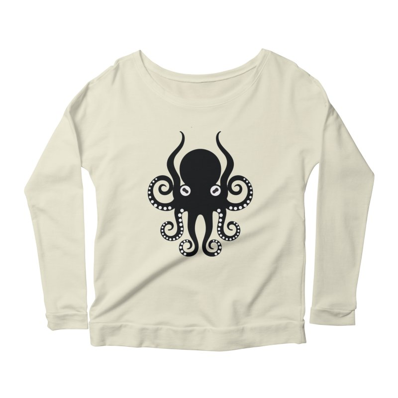 Octopi Women's Scoop Neck Longsleeve T-Shirt by DesignsbyAnvilJames's Artist Shop