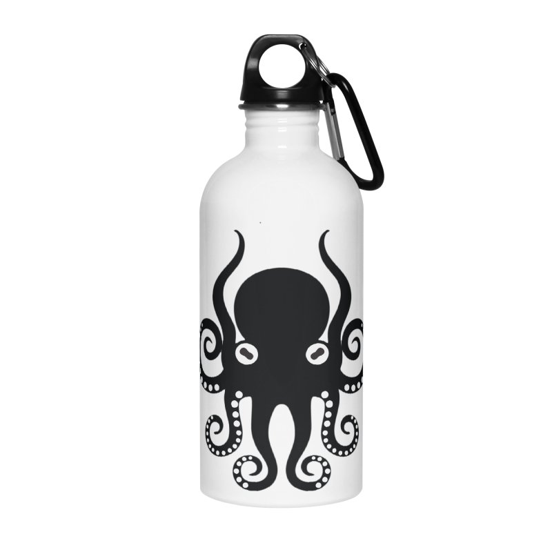 Octopi Accessories Water Bottle by DesignsbyAnvilJames's Artist Shop