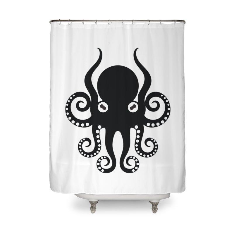 Octopi Home Shower Curtain by DesignsbyAnvilJames's Artist Shop