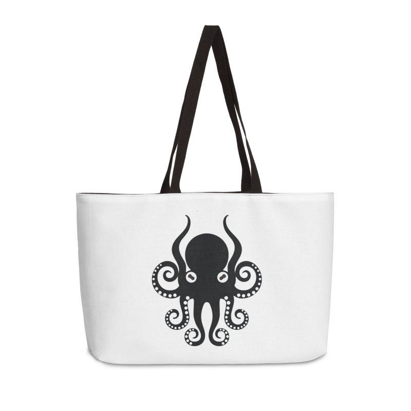 Octopi Accessories Weekender Bag Bag by DesignsbyAnvilJames's Artist Shop