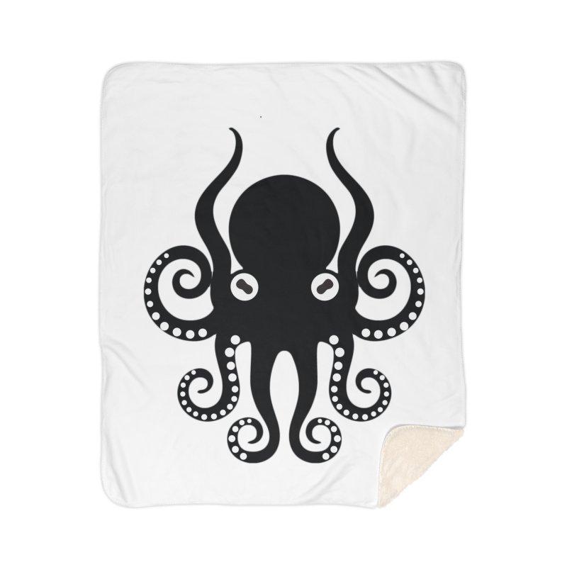 Octopi Home Sherpa Blanket Blanket by DesignsbyAnvilJames's Artist Shop