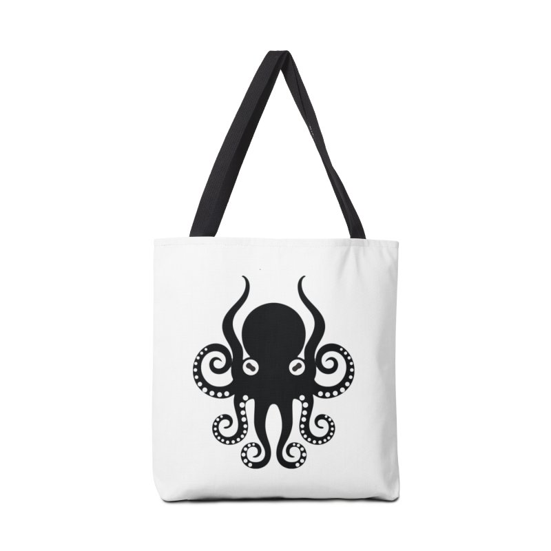 Octopi Accessories Tote Bag Bag by DesignsbyAnvilJames's Artist Shop