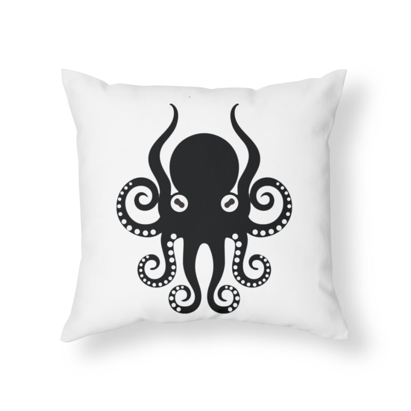 Octopi Home Throw Pillow by DesignsbyAnvilJames's Artist Shop