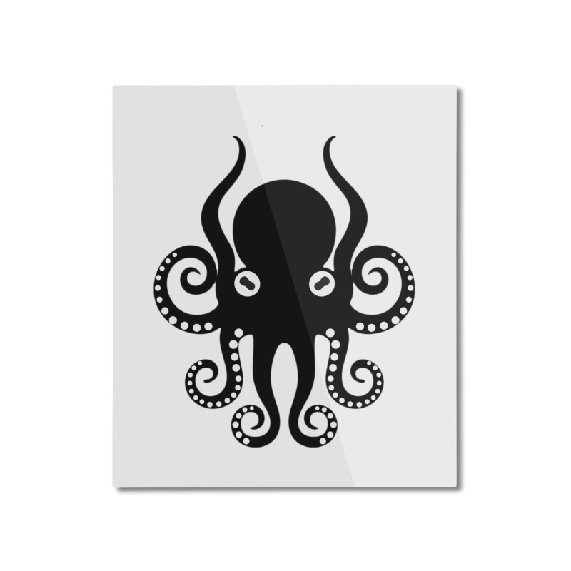Octopi Home Mounted Aluminum Print by DesignsbyAnvilJames's Artist Shop