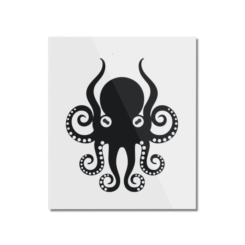 Octopi Home Mounted Acrylic Print by DesignsbyAnvilJames's Artist Shop